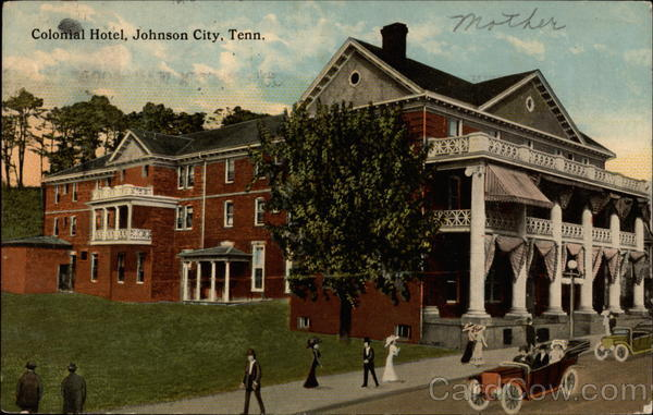 Colonial Hotel Johnson City Tennessee