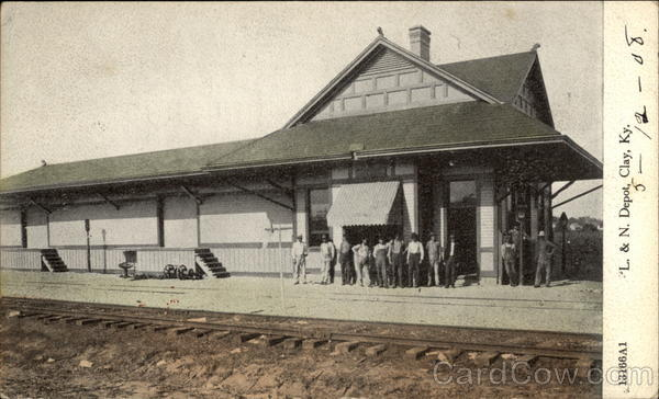 L. & N. Depot Clay Kentucky