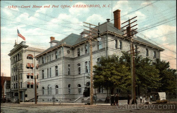 Court House and Post Office Greensboro North Carolina