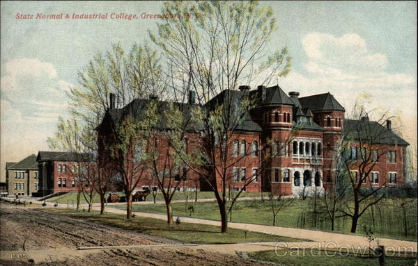 State Normal & Industrial College Greensboro North Carolina