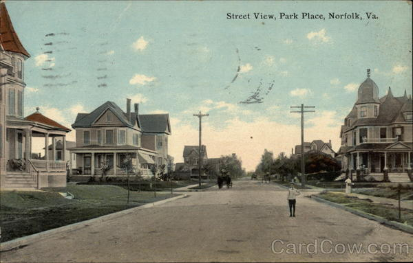 Street View, Park Place Norfolk Virginia