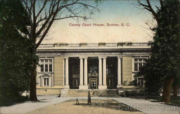 County Court House Sumter South Carolina