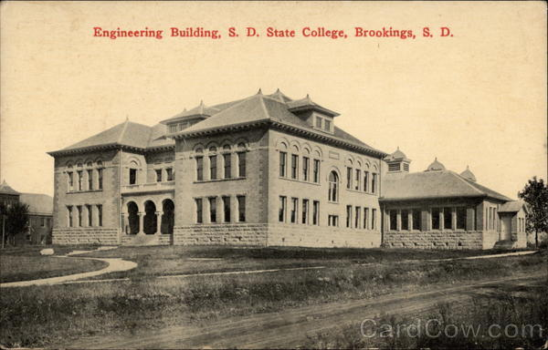 Engineering Building, S.D. State College Brookings South Dakota