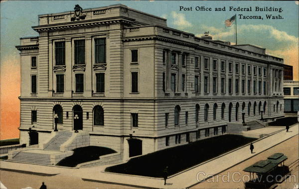 Post Office And Federal Building Tacoma WA