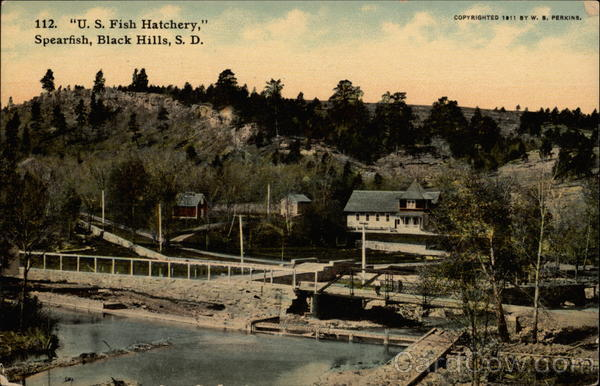 U S Fish Hatchery Spearfish Black Hills Sd