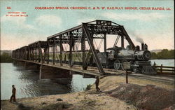 Colorado Special Crossing C. & N.W. Railway Bridge