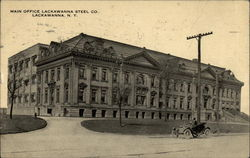Main Office, Lackawanna Steel Co