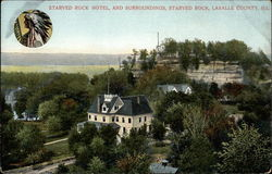 Starved Rock Hotel and Surroundings
