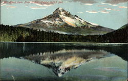 Mt. Hood from Lost Lake, Height 11225 feet
