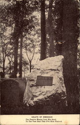 Grave of Emerson