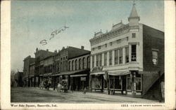 West Side Square Postcard