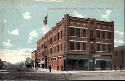 Cunningham Hotel and Lewis Street