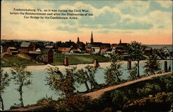 Fredericksburg, VA as it was during the Civil War