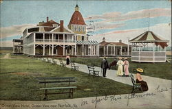 Ocean View Hotel, near Norfolk Postcard