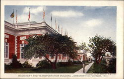 Machinery and Transportation Building, Jamestown Exposition, 1907