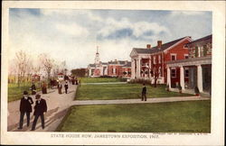 State House Row, Exposition 1907 Postcard