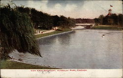 View from Refectory, Humboldt Park Postcard