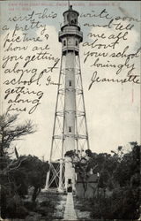 Cape Fear Light House, Smith's Island