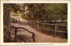 The Rustic Bridge, Exposition Grounds