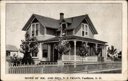 Home of Mr. amd Mrs. N. J. Frayn