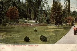 View in Pt. Defiance Park