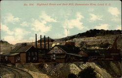 Highland Hoist and Saw Mill, Homestake Mine