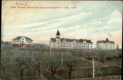 State Normal School and Grounds, 1909