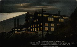 Ellison Hoist by Moonlight Postcard