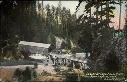 Lower Bridge, Elwha River