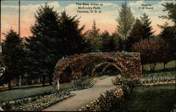 The Rose Arbor in McKinley Park