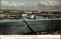 Tacom'as Famous Tide Lands showing Mills and Factories