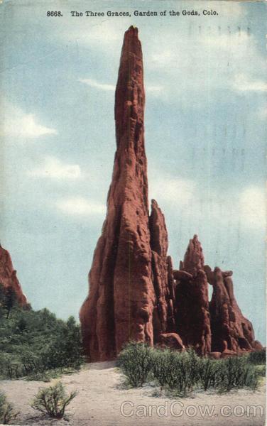 The Three Graces Garden of the Gods Colorado