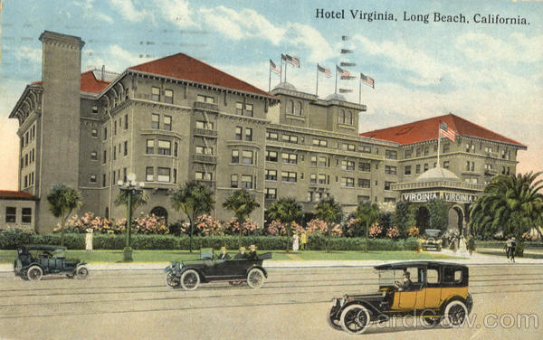 Hotel Virginia Long Beach California