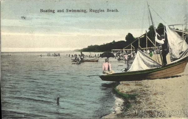 Boating and Swimming, Ruggles Beach Ohio