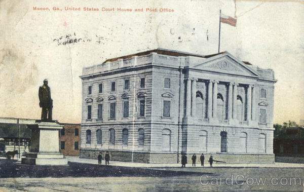 United States Court House and Post Office Macon Georgia