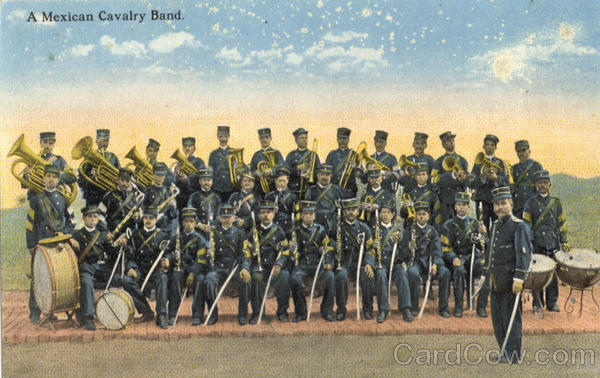 A Mexican Cavalry Band Military Mexico
