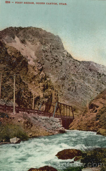 First Bridge Ogden Canyon Utah