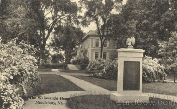 The Wainwright Home Middlebury Vermont