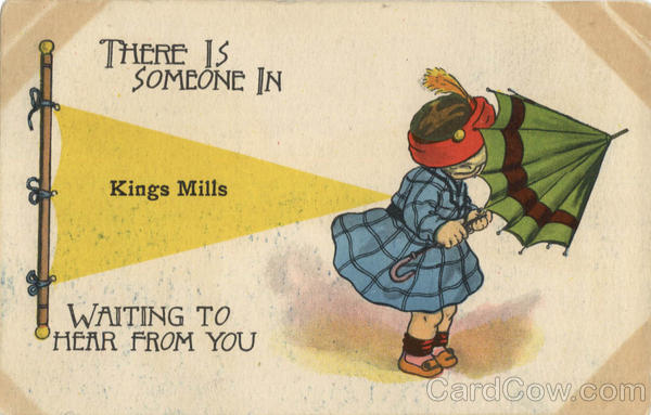 There is somene... Banner Card Kings Mill Michigan