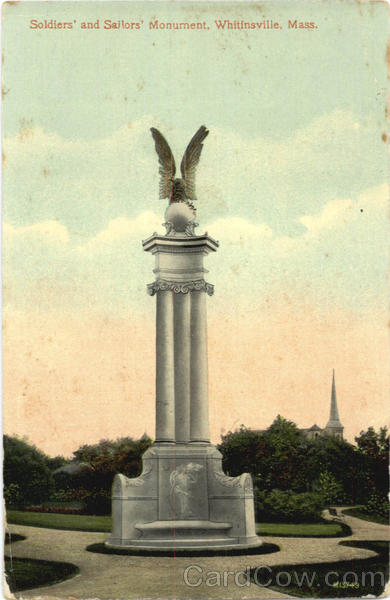Soldiers' and Sailors' Monument Whitinsville Massachusetts