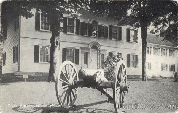 Washington Headquarters Morristown New Jersey