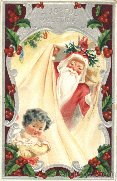 A Joyful Yuletide Santa Claus