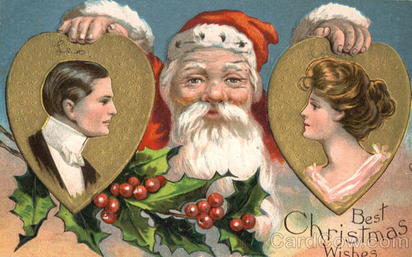 Best Christmas Wishes Santa Claus Romance & Love