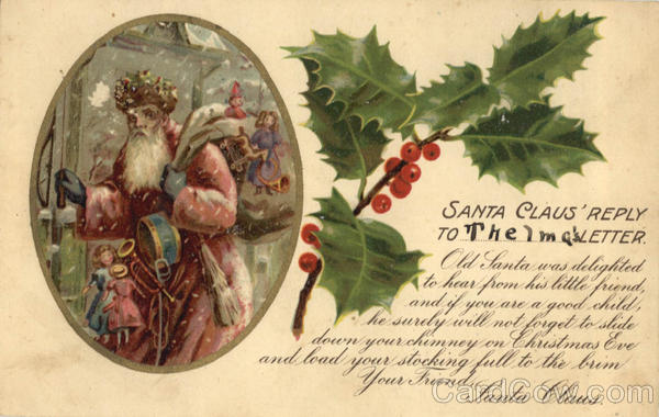 Santa Claus' Reply