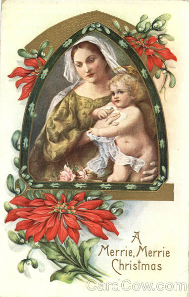Madonna and Child A Merrie, Merrie Christmas Madonna & Child