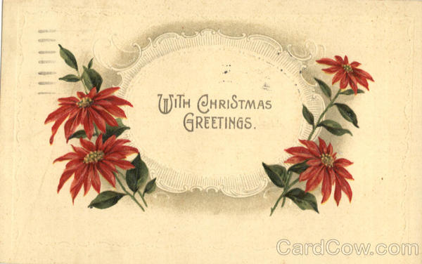 With Christmas Greetings