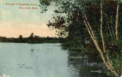 Glimpse of Hopedale Pond