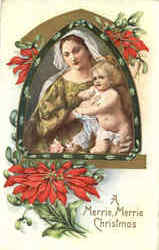 Madonna and Child A Merrie, Merrie Christmas