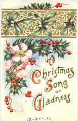 Christmas Song of Gladness