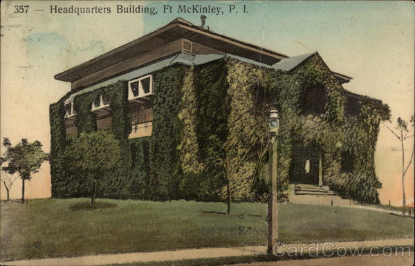 Headquarters Building Fort McKinley Philippines Southeast Asia